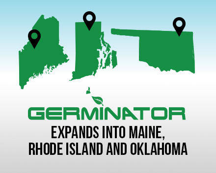 Rhode Island, Maine, and Oklahoma City is Now Protected by Germinator