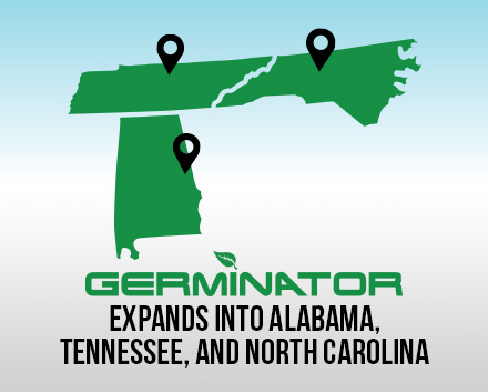 Germinator Franchise Extends Into Alabama, Tennessee, and Adds Its Fourth Location in North Carolina