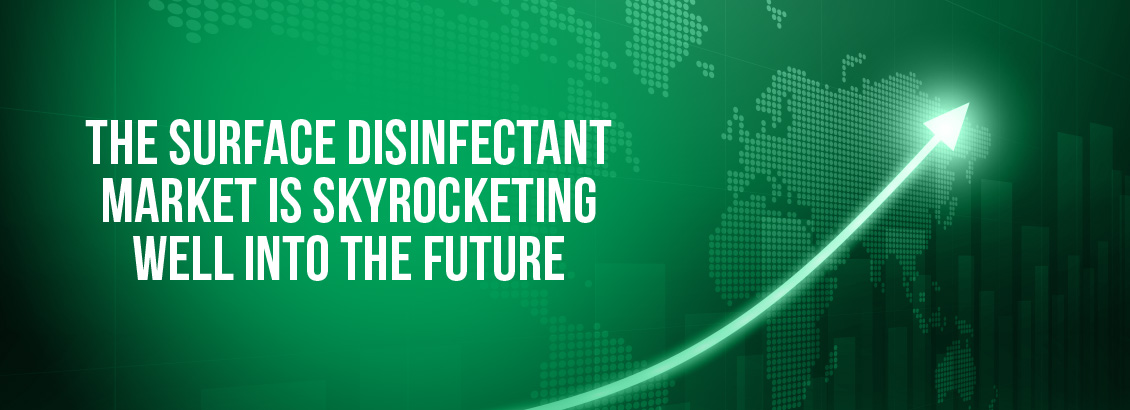The Surface Disinfectant Market is Expected to Grow to a 2.7 Billion Dollar Industry by 2027