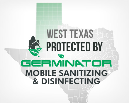 Amarillo and Lubbock are Now Protected by Germinator Mobile Sanitizing & Disinfecting
